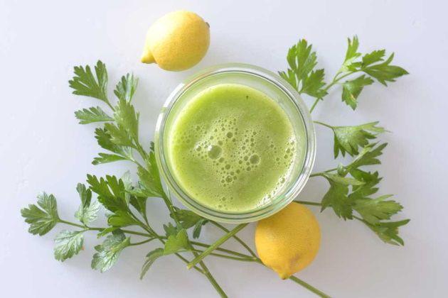 parsley-lemon-weight-loss-juice